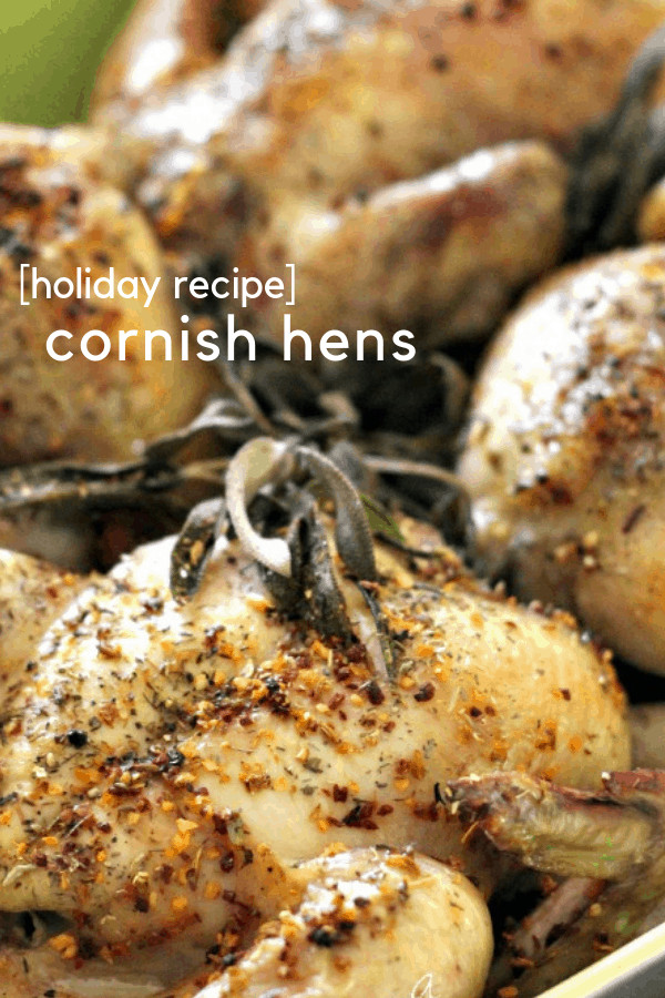 Looking for an alternative to Turkey this Thanksgiving? Try our Cornish Hens recipe, well-seasoned and easy to make. Plus, it's less hassle than making a huge turkey and a ton of leftovers.