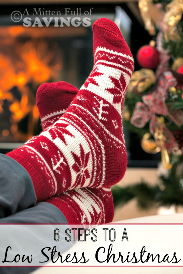 Have a Stress- Free Christmas this year with our 6 easy ways to have a low-stress-free Christmas