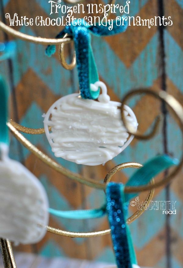 frozen treat ideas white chocolate candy ornaments