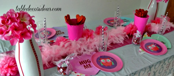 Kids Valentine Birthday Party Idea