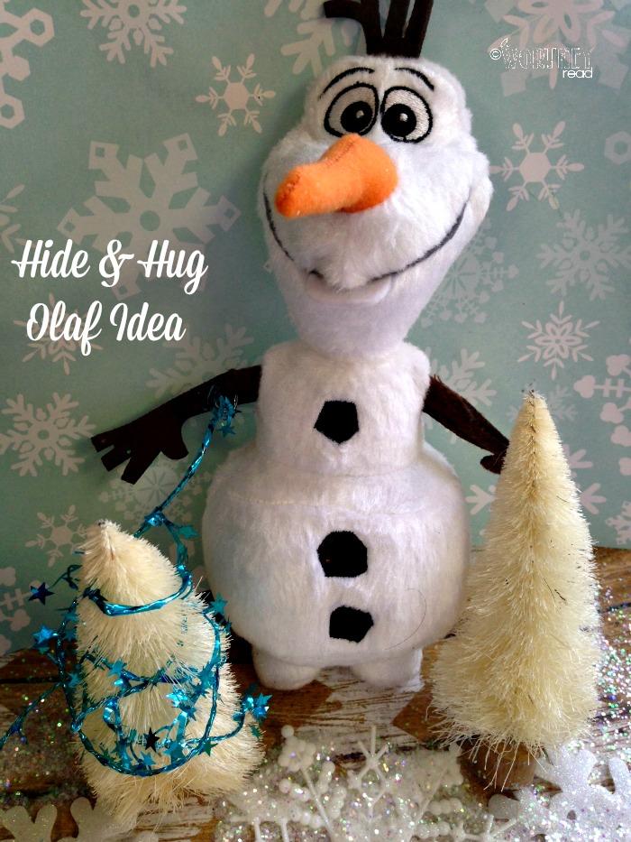 Hide and hug olaf idea day 17