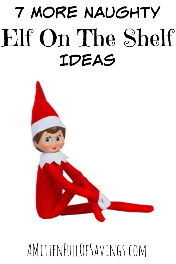 image about Elf on the Shelf Kissing Booth Free Printable named 7 Far more Naughty Elf Upon The Shelf Tips - This Worthey Daily life