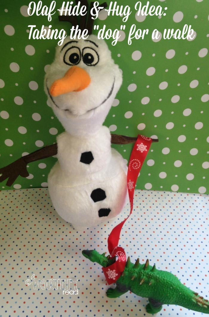 Olaf Hide and hug idea day 11