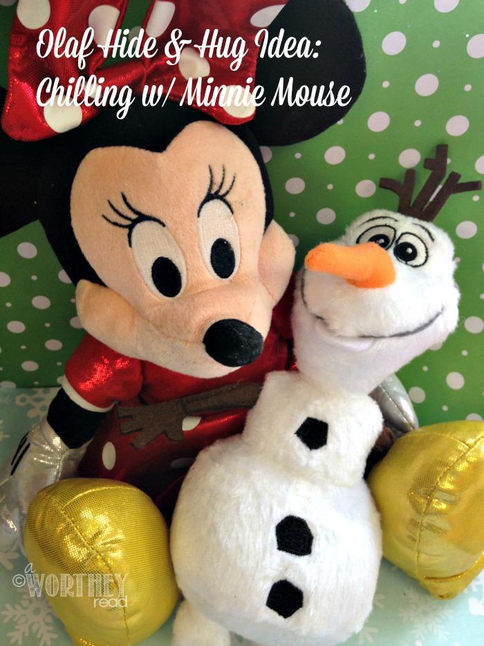 Olaf Hide and hug idea day 7