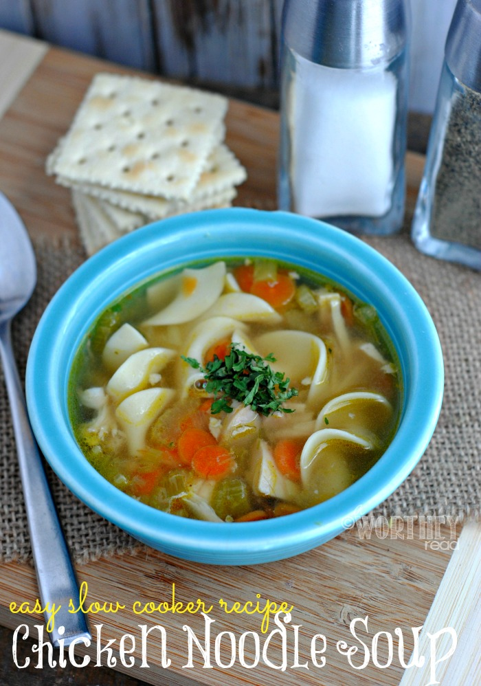 Easy recipe for Slow Cooker Chicken Noodle Soup