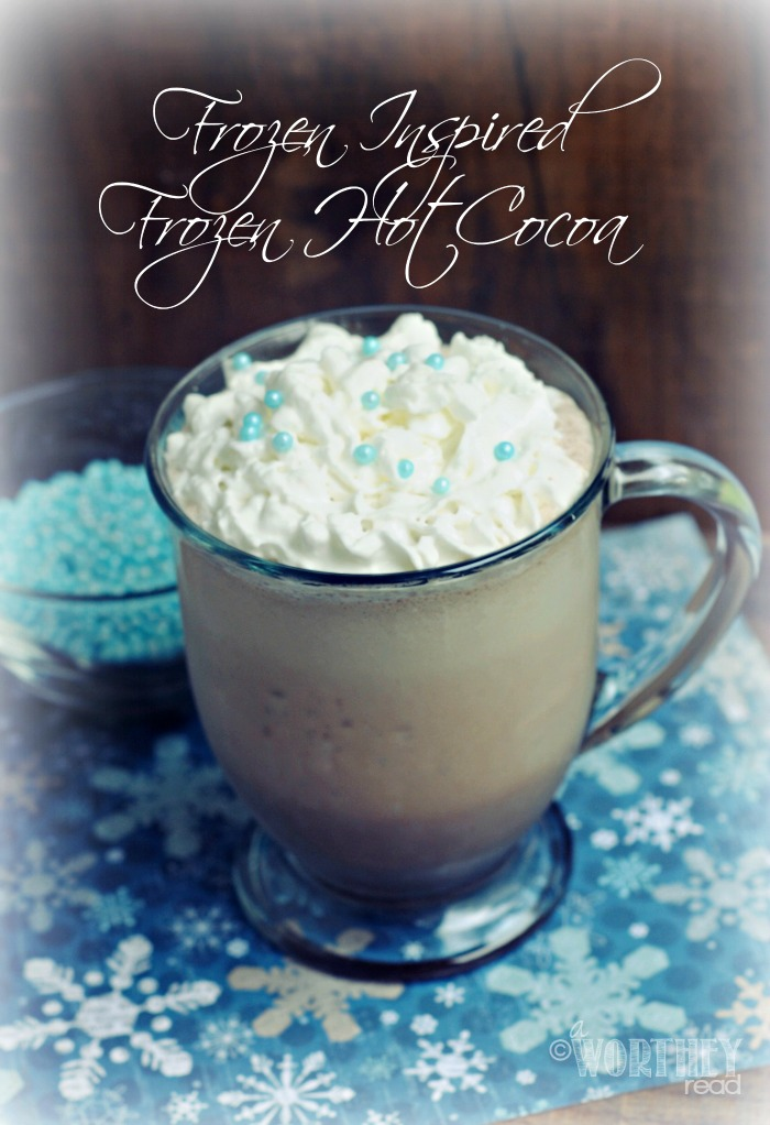 Frozen Inspired Frozen Hot Cocoa