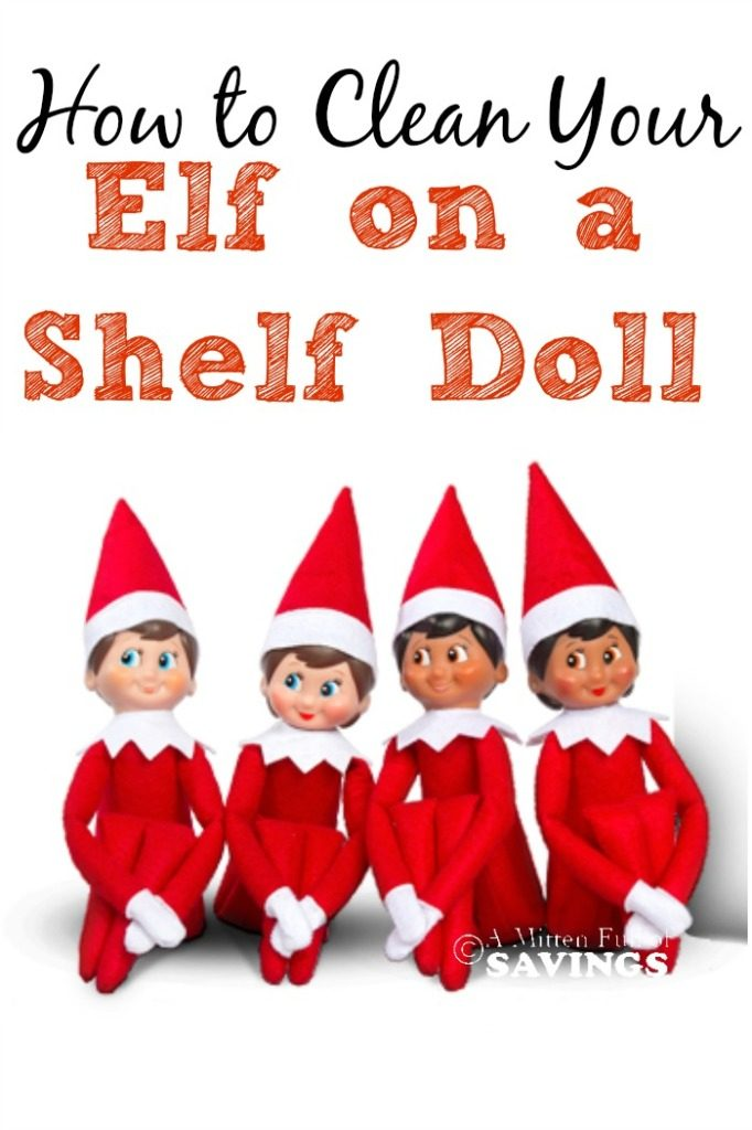 How To Clean Your Elf On The Shelf