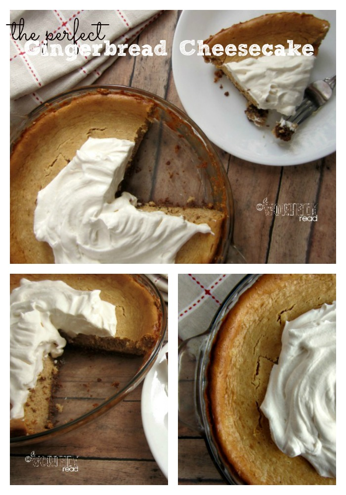 Here's an easy recipe for Gingerbread Cheesecake. Great Holiday Recipe- Come read how to make Gingerbread Cheesecake