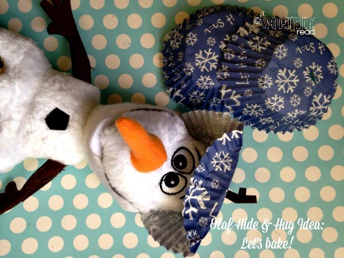 olaf hide and hug idea day 6