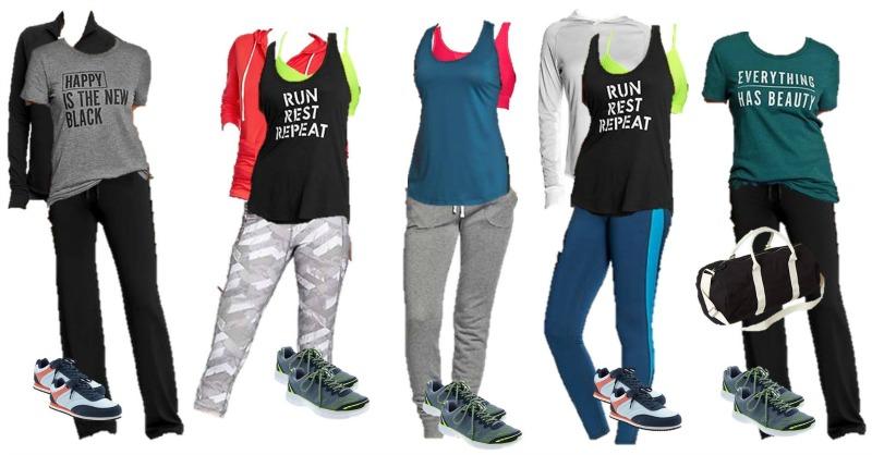Mix & Match Fitness Wardrobe ideas
