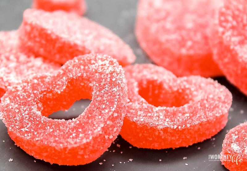 Homemade Gumdrops Recipe for Valentine's Day
