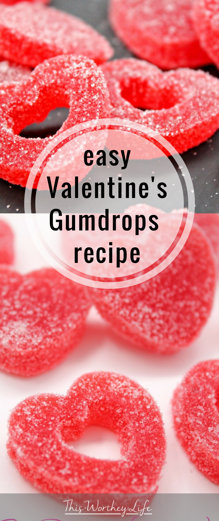 If you need a cute and easy Valentine's Day recipe, check out this amazing homemade Gumdrops Recipe.
