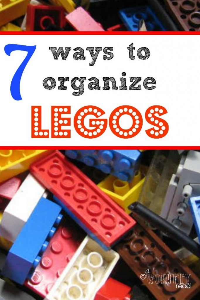 If you are tired of stepping on legos and seeing them all over the house, I have the perfect post for you: 7 Ways to Organize Legos