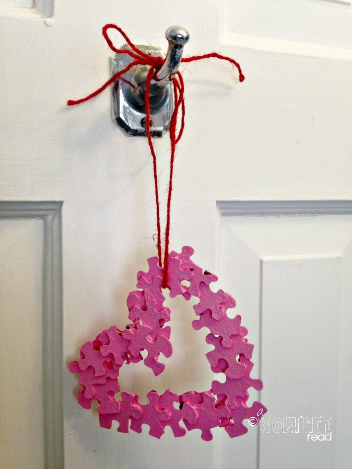 Autism Awareness Valentine's Day Craft