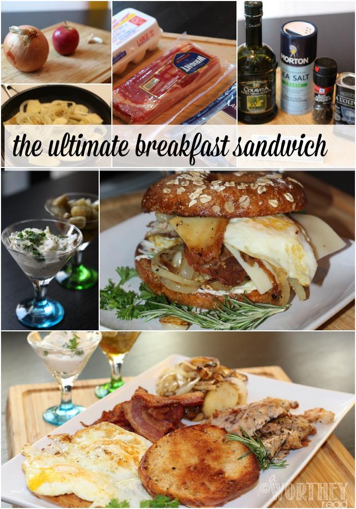 You haven't tried a breakfast sandwich until you have tried this Ultimate BEST Breakfast Sandwich!