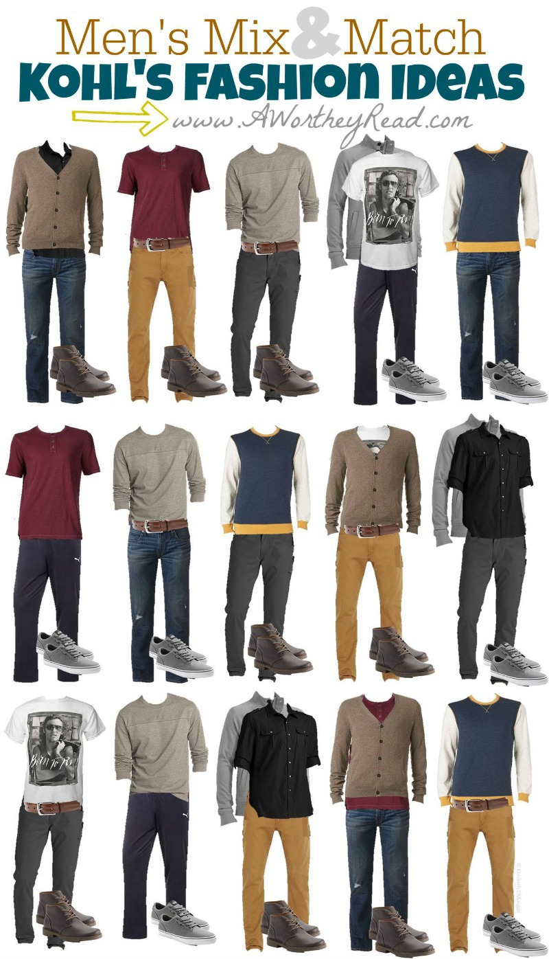 Men's Mix & Match Fashion Ideas
