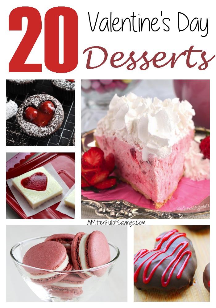 20 Valentines Day Desserts