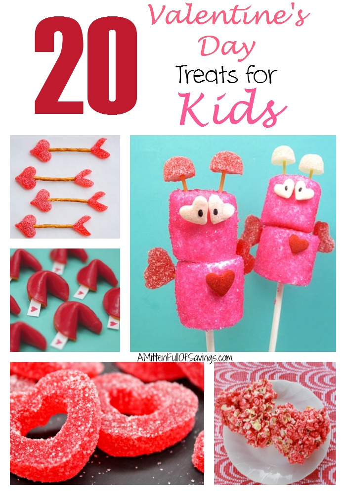20 Valentine's Day Treats for Kids