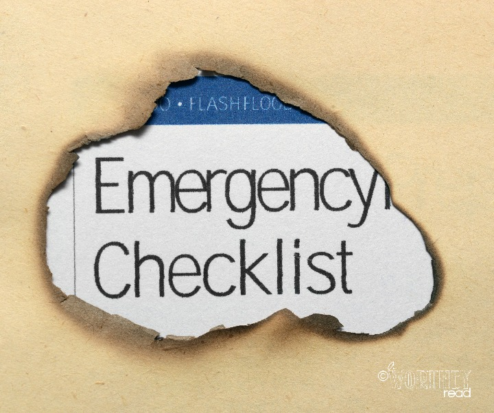 Leave an Emergency Checklist for the babystter