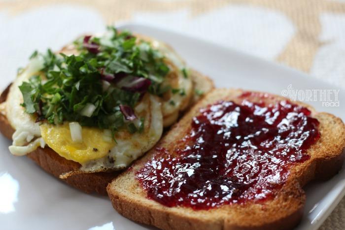 The Easy Kid Breakfast Sandwich