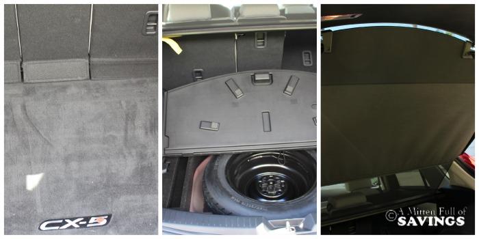 Back of Mazda CX 5
