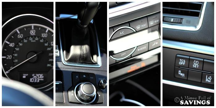 Inside of Mazda CX5
