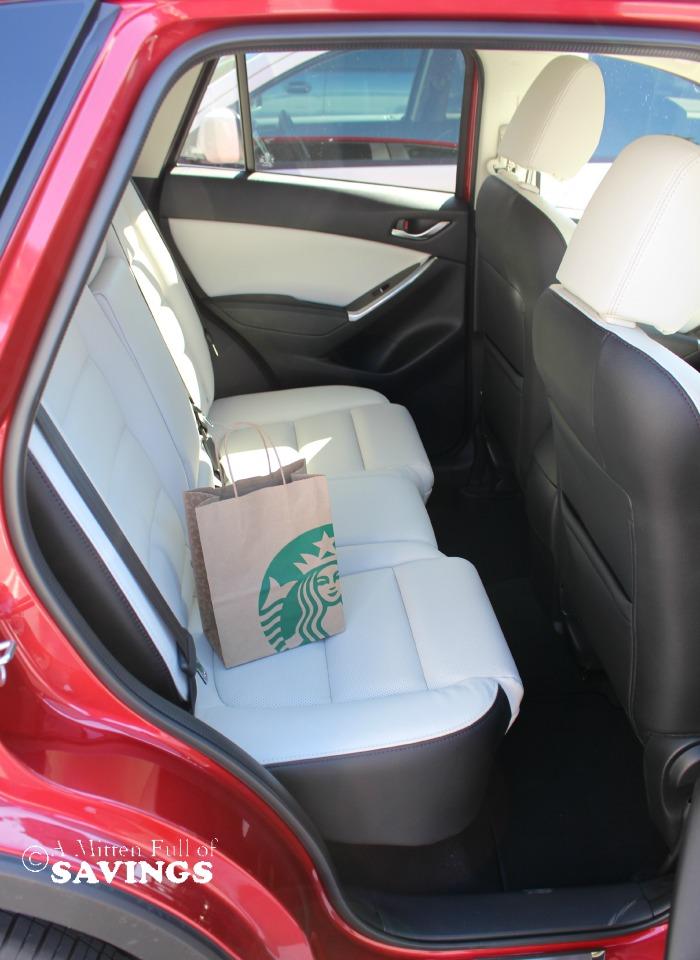 Mazda Backseat View