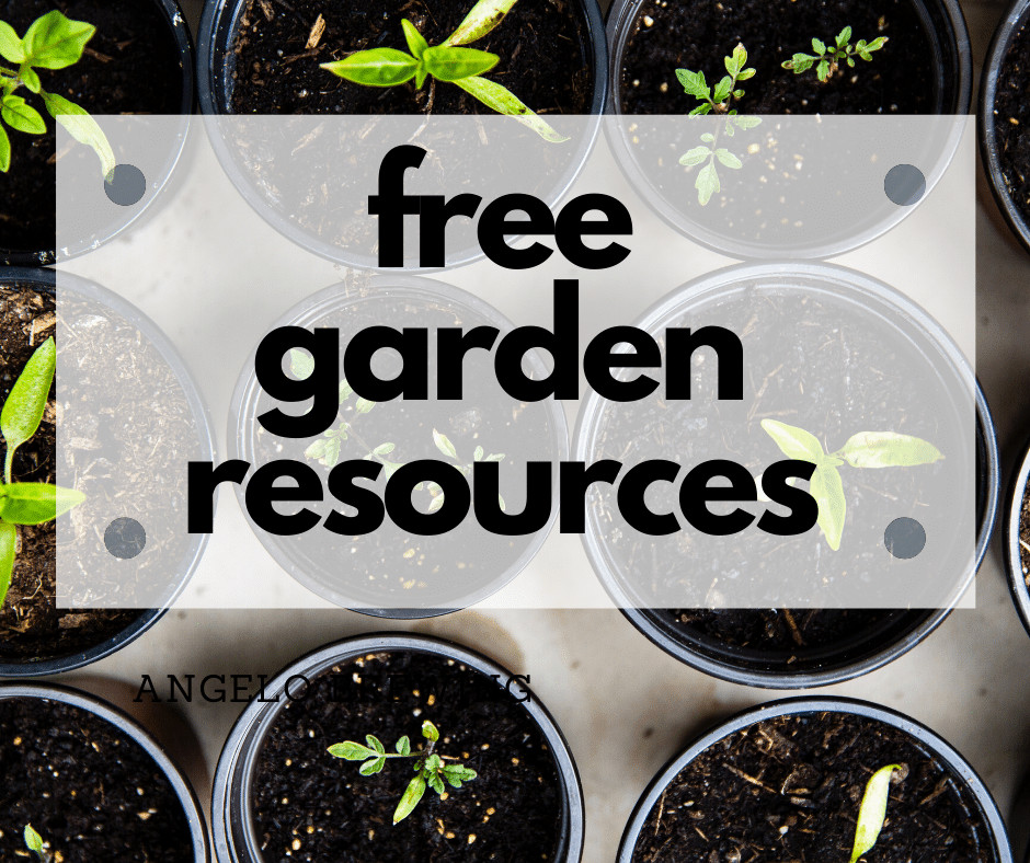 free garden resources image