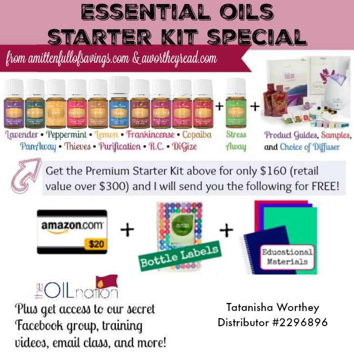 Essential Oils Starter Kit Special