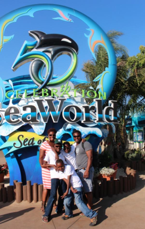 Worthey Family at Sea World