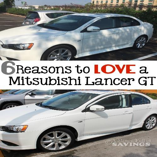 6 Reasons to LOVE A Mitsubishi Lancer GT FB
