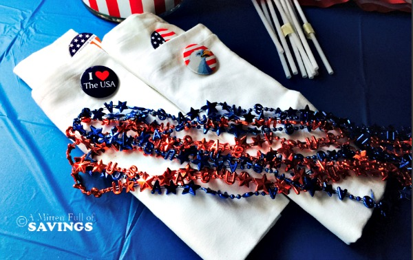 DIY Memorial Day Napkins
