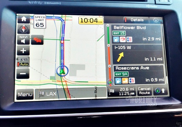 Kia Sedona GPS