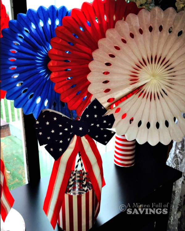 DIY Patriotic Centerpiece: Save on Summer Essentials with Dollar General