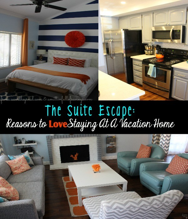 Headed to Disneyland or Southern California? The Suite Escapes is a SWEET Place to stay. The perfect Vacation Home- here's several reasons why: The Suite Escape Several Reasons To LOVE Staying At A Vacation Home