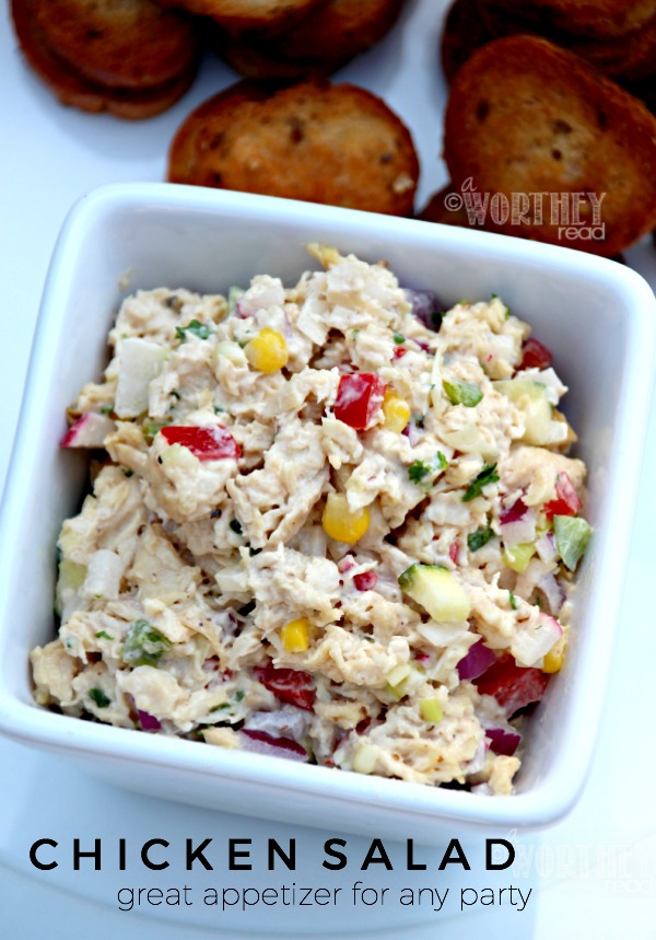 This summer salad will hit the spot, since it's delicious and easy recipe to make! Get the Summer Chicken Salad recipe on the blog. Easy summer recipe to add to your list!
