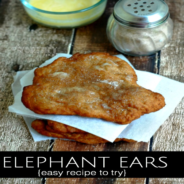 How To Make Elephant Ears Recipes