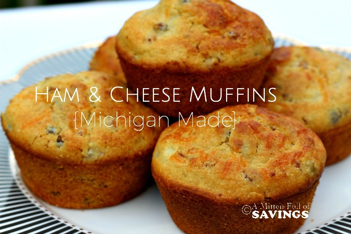Ham & Cheese Muffins Michigan Made Recipe