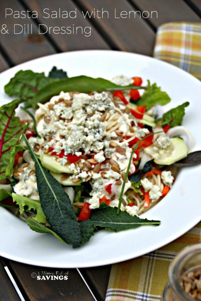 Pasta Salad with Lemon & Dill Dressing