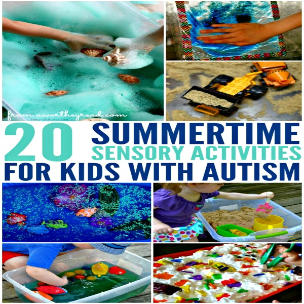 Summertime Sensory Activities For Kids With Autism