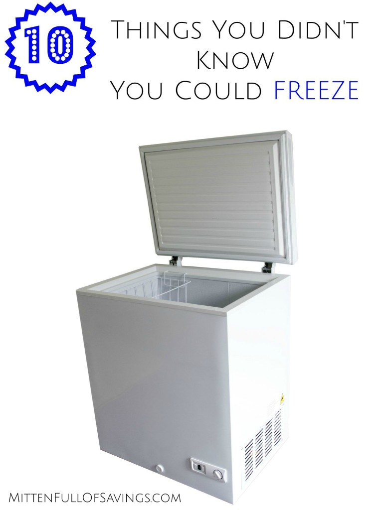 10 Things You Didn't Know You Could Freeze