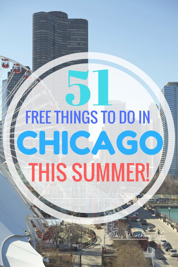 Planning a trip to Chicago soon? There's a ton of FREE things to do in Chicago. Whether you're looking for a staycation idea in Chicago, traveling with kids to Chicago, check out over 51 FREE Things To Do in Chicago!