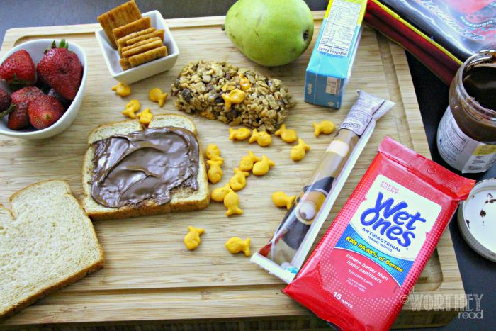 Back To School Goldfish Crackers Granola Bars