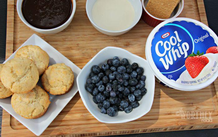 Blueberry Shortcake Kraft Products