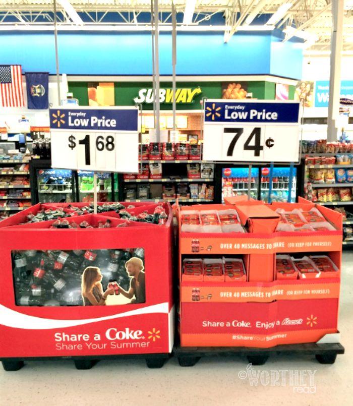 COKE and REESES Walmart