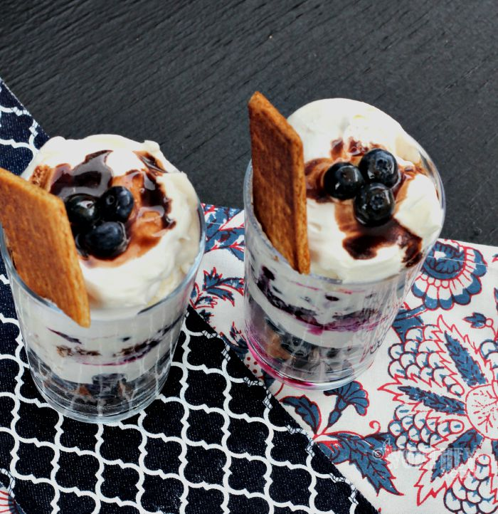 Easy Dessert with Blueberries