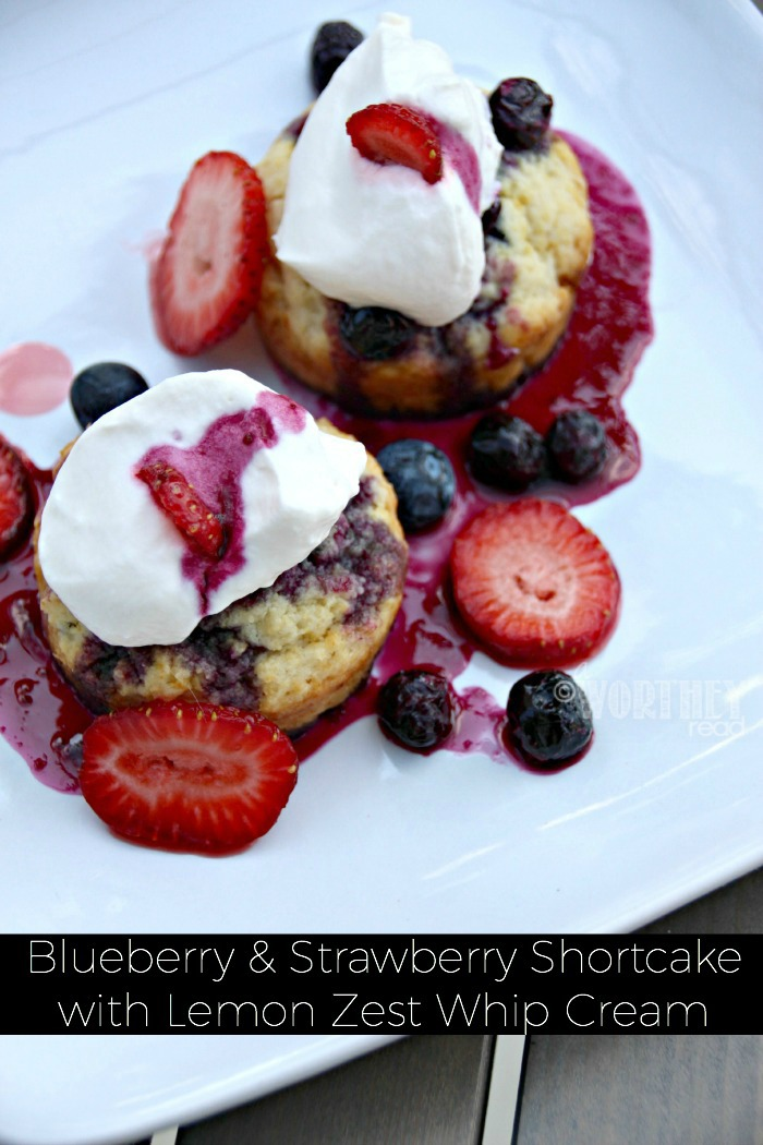 Our shortcake recipe will leave you drooling and running to the kitchen to make your own Blueberry & Strawberry Shortcake Recipe with Lemon Zest Whip Cream.