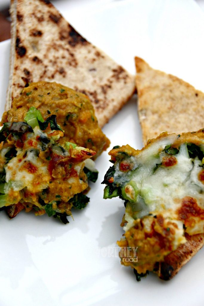 Dip Recipe- Sweet Potato, Green Lentil and Roasted Red Pepper Dip