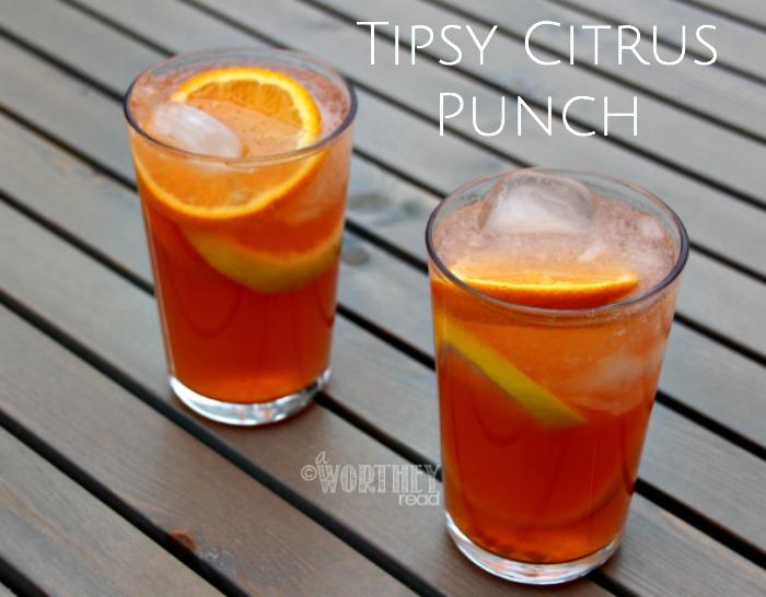 Tipsy Citrus Punch | Drink Recipe