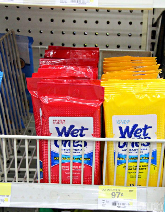 Wet Ones from Walmart
